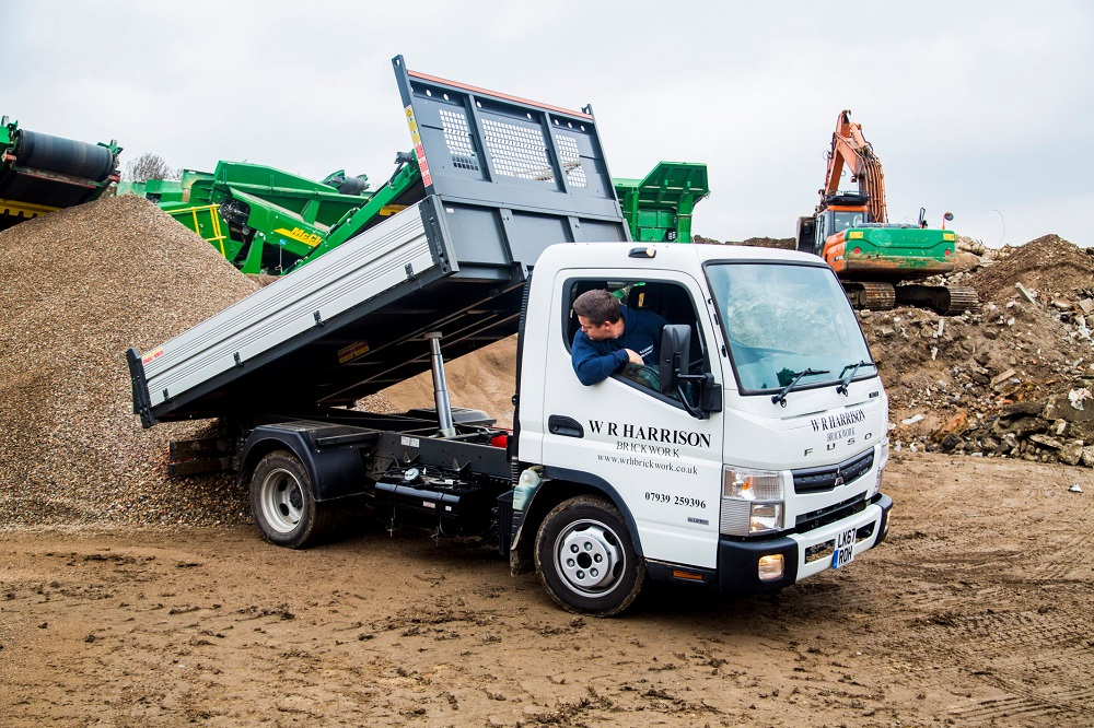 BUILDERS WHEELS: FUSO Canter - Professional Builder