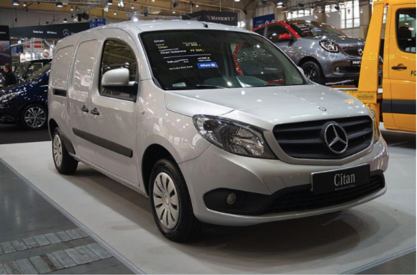 Mercedes-Benz Citan revealed as the most fuel-efficient van to buy in 2020