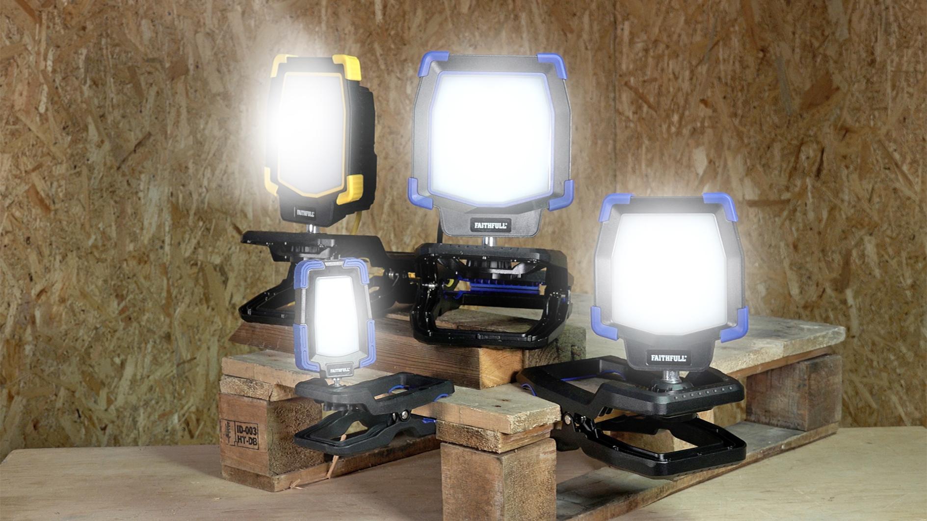 Faithfull's new LED Clip Light range