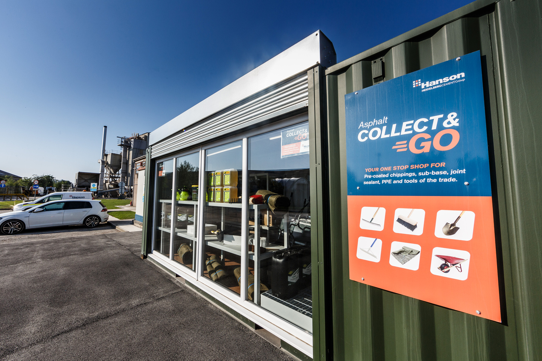 Hanson introduces asphalt Collect & Go service