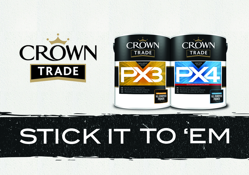 All-purpose primer from Crown Trade