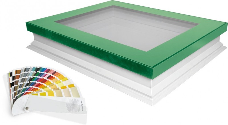 FAKRO Launches Flat Roof Window in any RAL Colour
