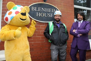 Professional Builder Visits BBC's DIY SOS: The Big Build
