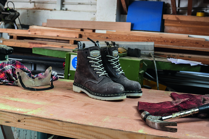 Dr. Martens launches women's safety footwear