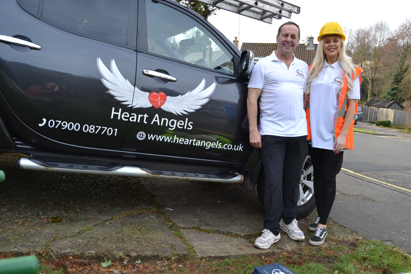 Meet the roofer behind the Heart Angels initiative