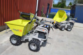 Introducing the Truxta mini dumper and Tuffbelt conveyor