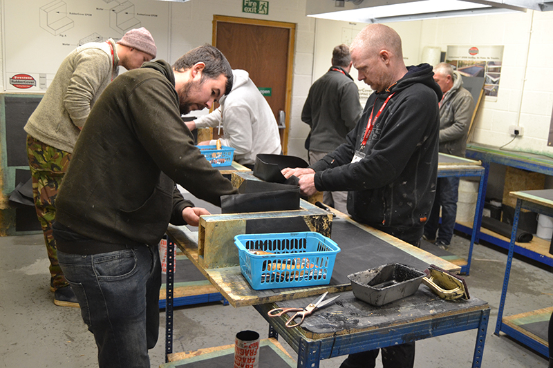EPDM training with Permaroof