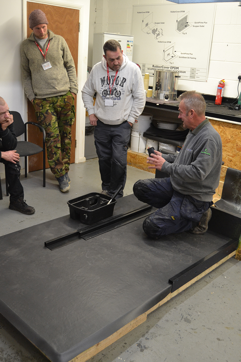 Epdm Training With Permaroof Professional Builder