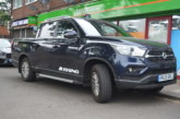 Professional Builder's Terry Smith gets acquainted with the new SsangYong Musso