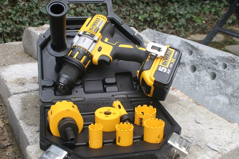 Roger Bisby Discovers the 'Hole' Truth With Dewalt