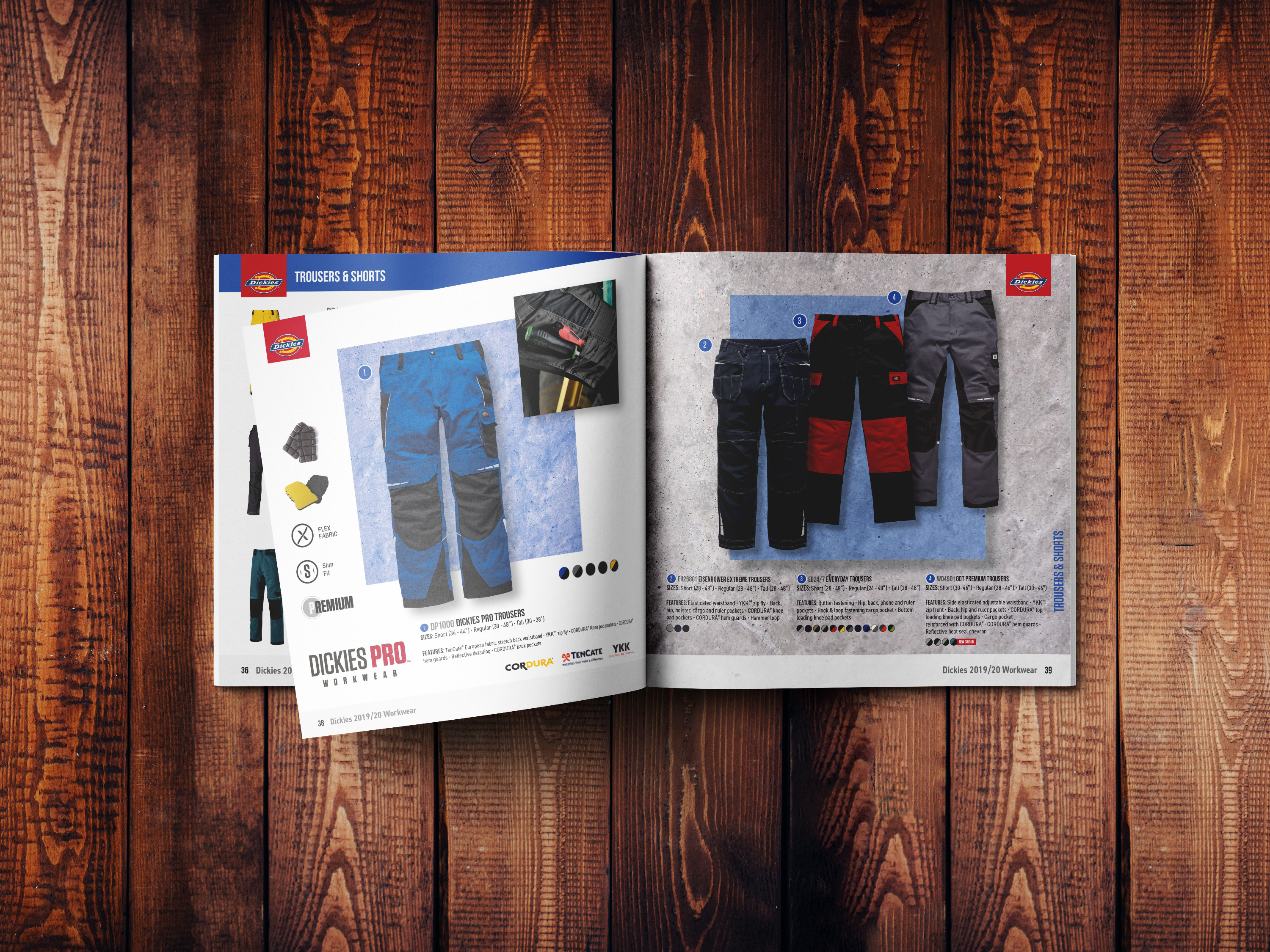 New workwear catalogue from Dickies