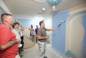 Inside the Dulux Academy: advanced spray application