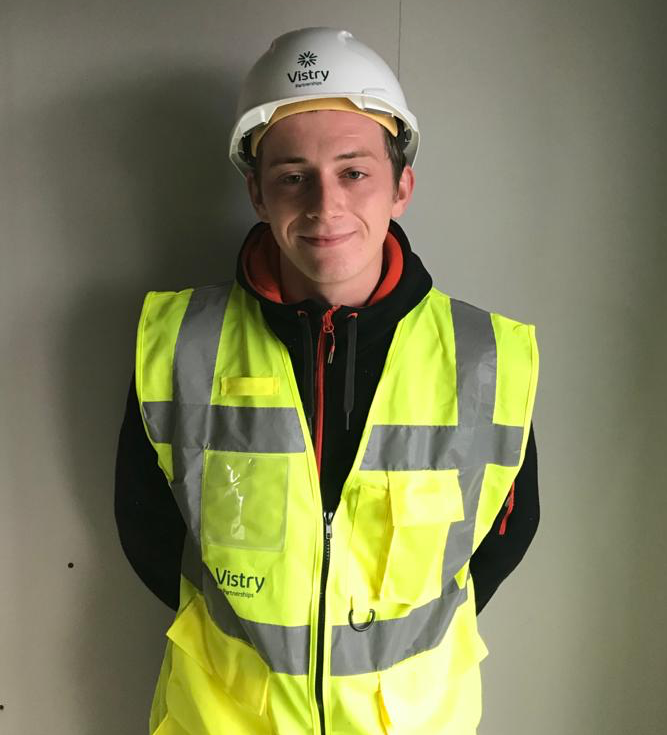 New apprentice joins Vistry Partnerships' Woodpecker team