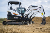 The Bobcat R-Series mini-excavators