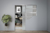 WIN an Eclisse Plain Satin Glass Pocket Door