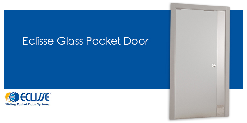 Eclisse Glass Pocket Door