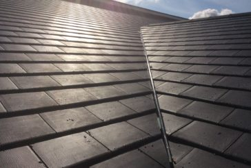 Sustainable polymer tile complements Eurocell's warm roof solution