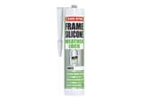 Win 24 cartridges of Evo-Stik white silicone sealant