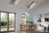 Enhancing extensions with roof windows