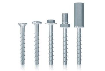 New concrete screws from fischer