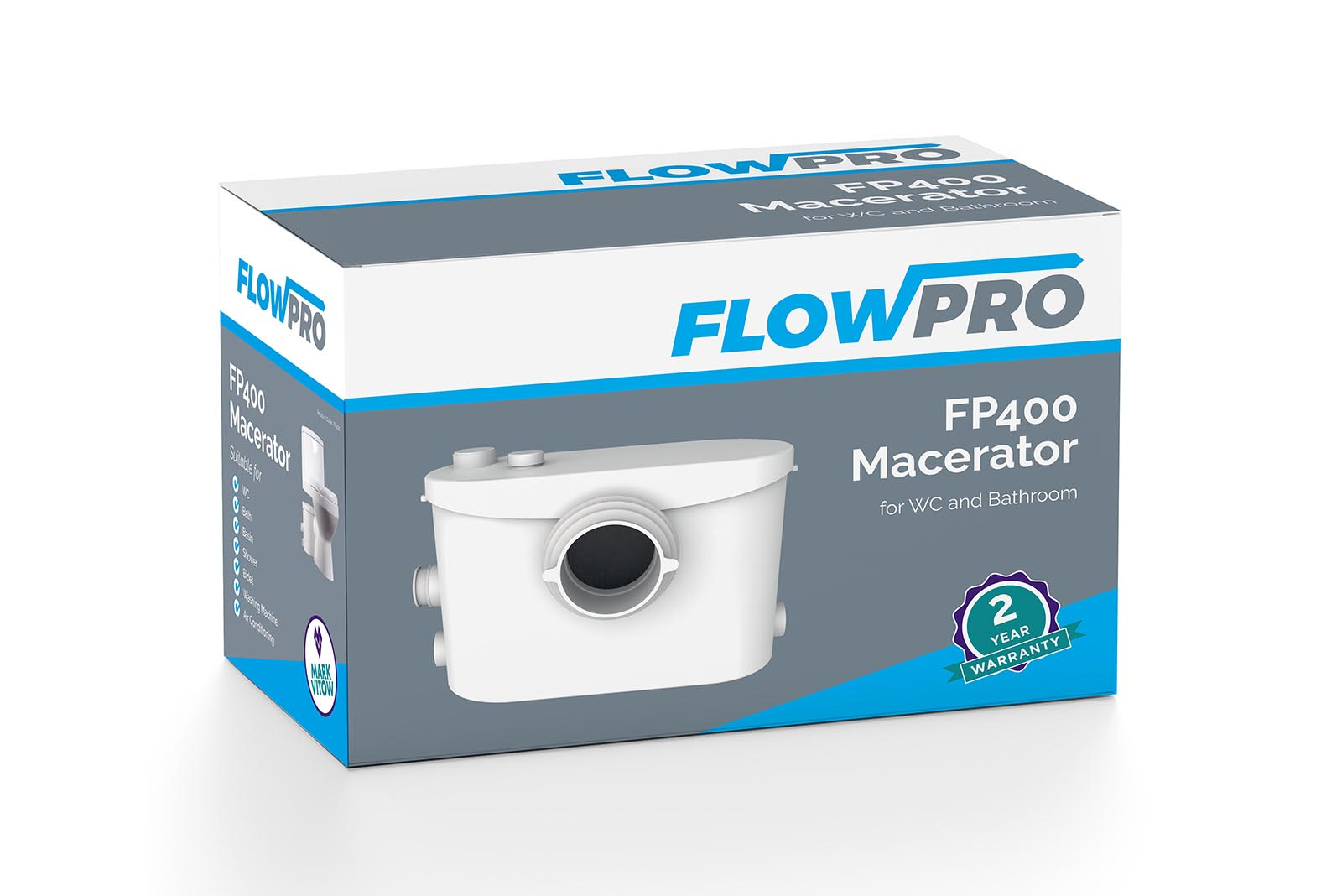 Video overviews of Mark Vitow's FlowPro range of macerators