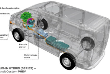 Ford Transit Plug-in Hybrid Van Makes Debut