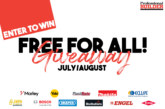 Free for all giveaway July/August 2019