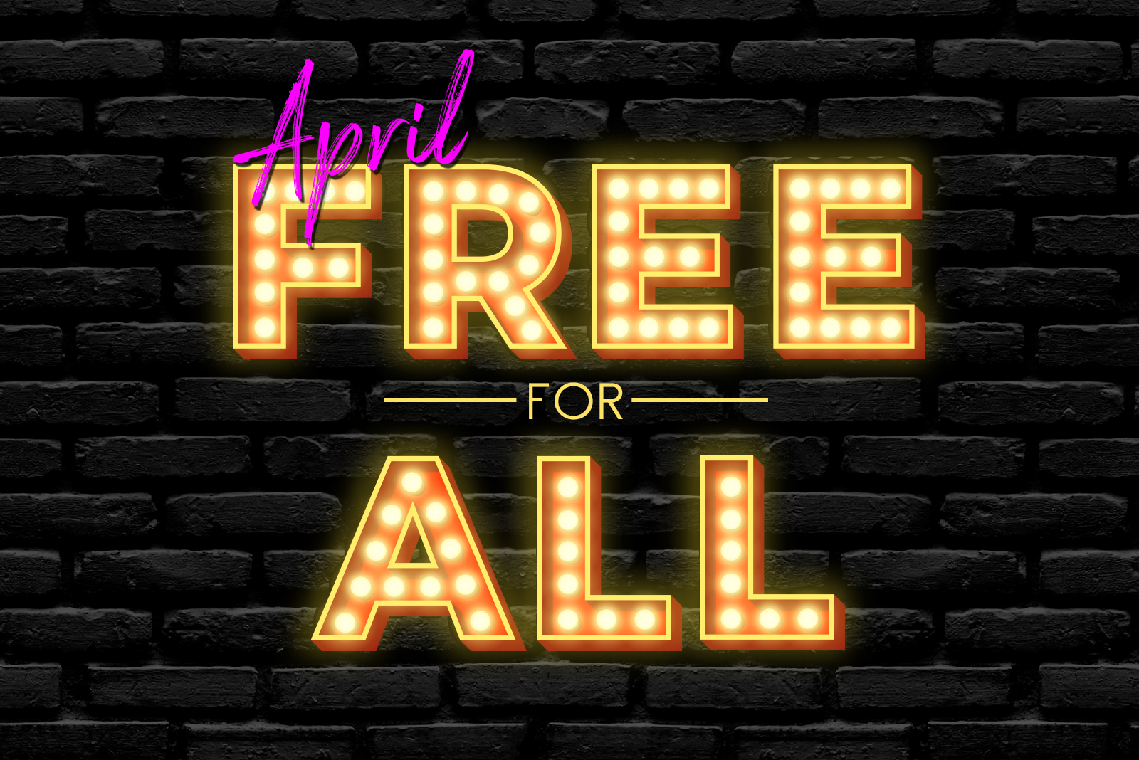 Free for all April 2020