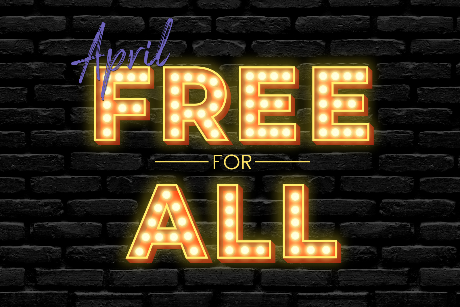 April 2021 free for all