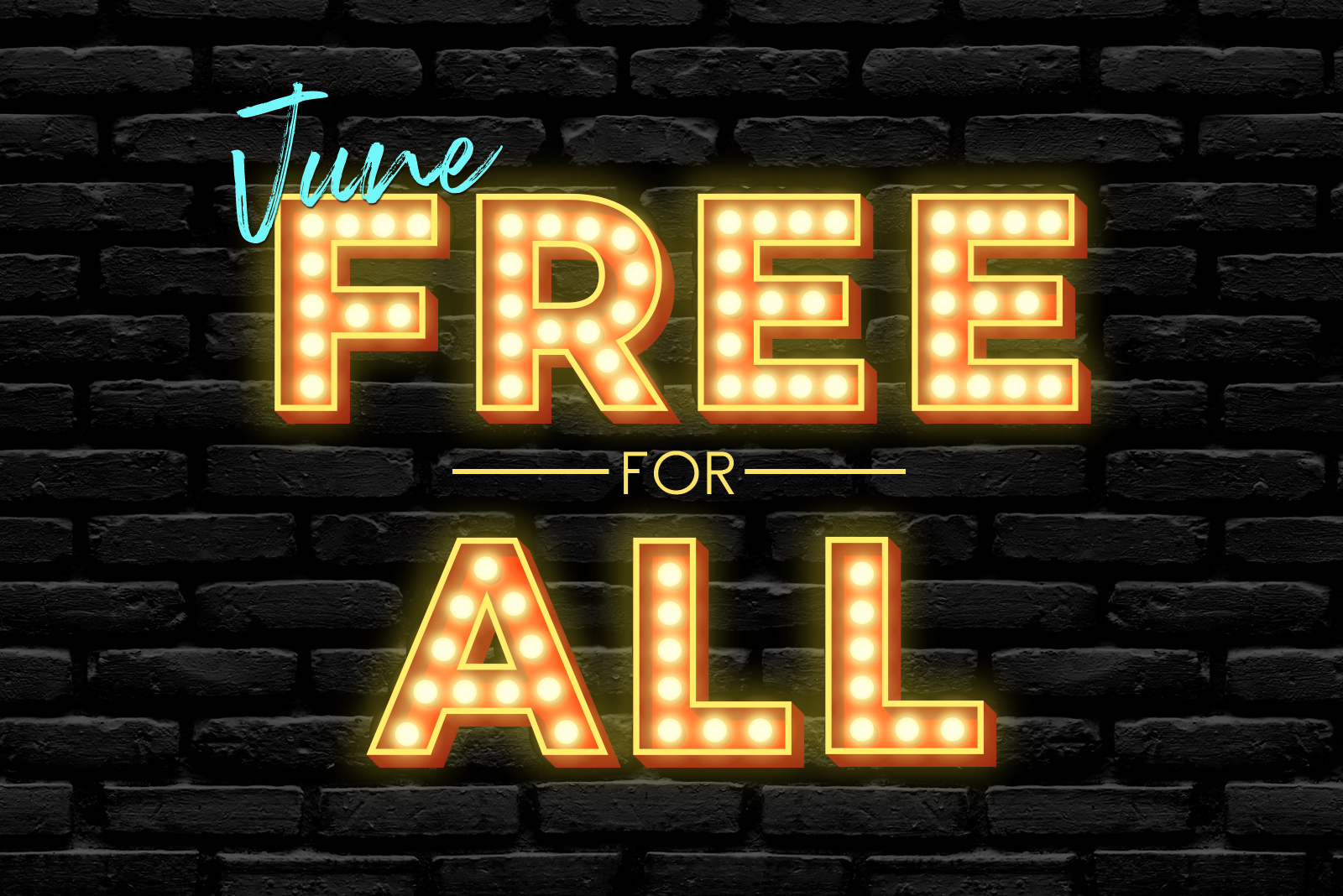 June 2021 free for all