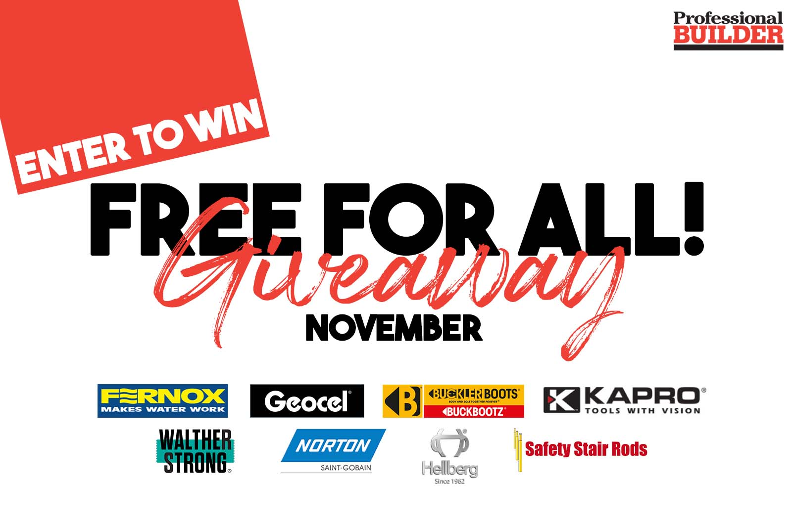 Free for all giveaway November 2019