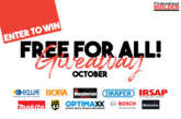 Free for all giveaway October 2019
