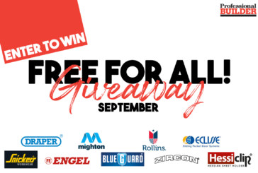 Free for all giveaway September 2019