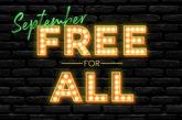 September 2021 free for all