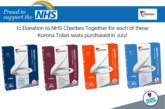 Fundraising toilet seats from Mark Vitow