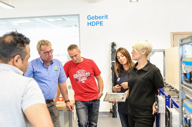 Train to the Latest Installation Standards for Free With Geberit
