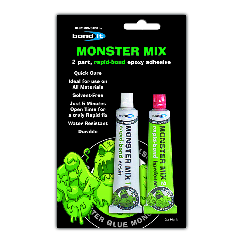 Win! 50 tubes of Monster Mix from Bond It