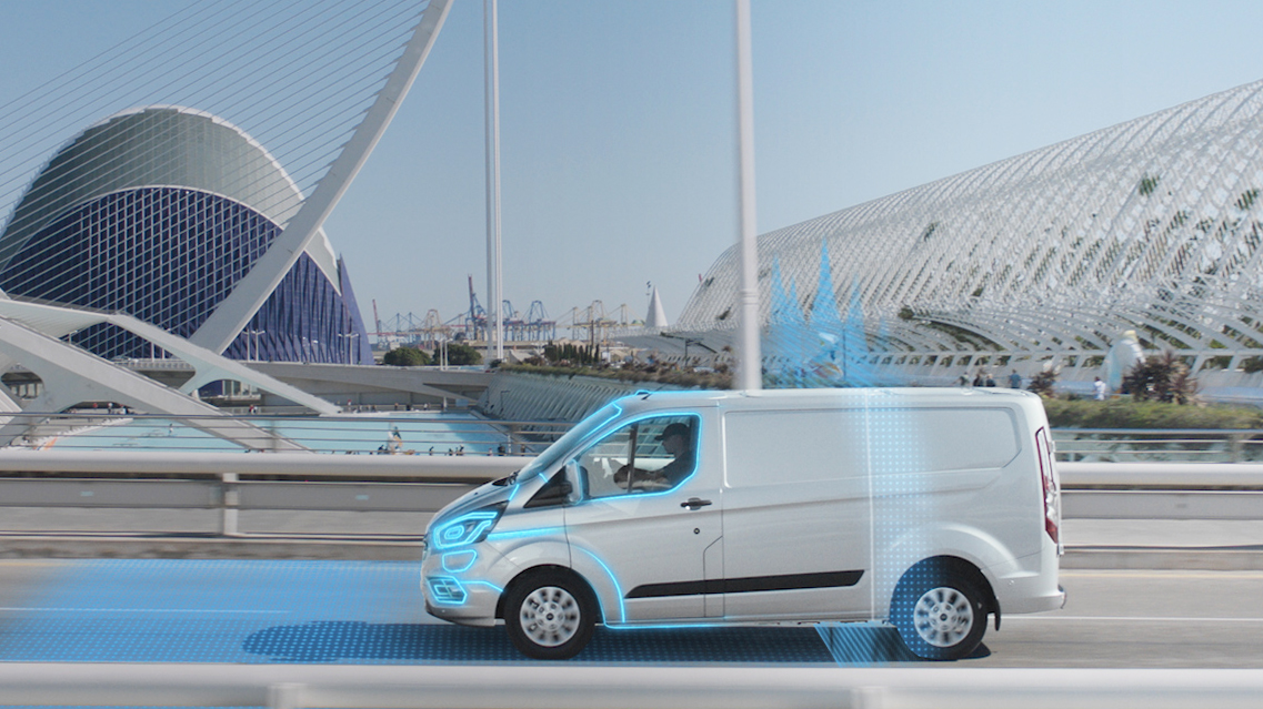 Ford Transit's new automatic electric mode