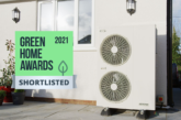 Grant Aerona3 R32 heat pump shortlisted for Green Home Awards