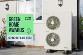 Grant Aerona3 R32 heat pump shortlisted for Green Home Awards