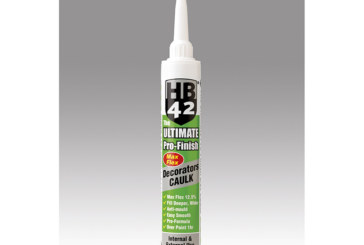 Decorators' caulk from HB42