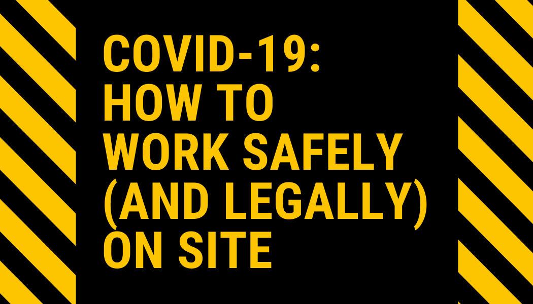 Health & safety updates for Covid-19 from HBXL
