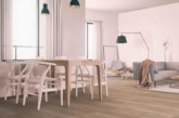 Wood-effect flooring from Harvey Maria