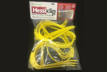 Win a pack of Hessian Sheet Clips