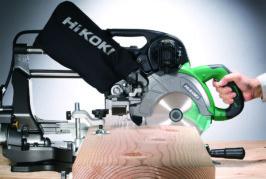 HiKOKI introduces 36V slide compound mitre saw