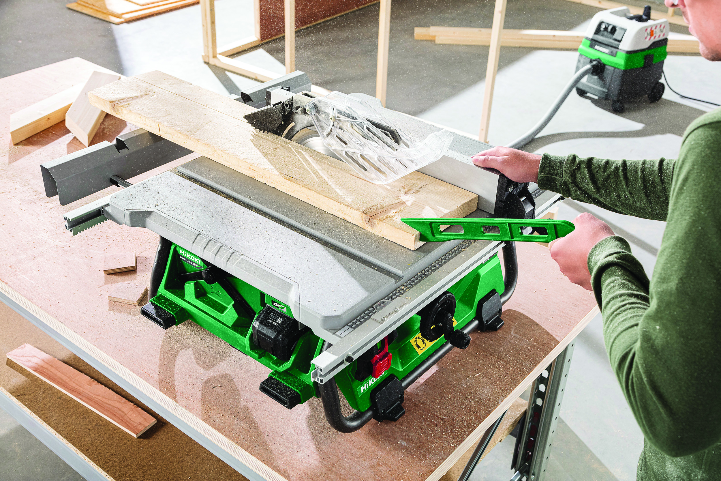 HiKOKI Power Tools UK launches industry first  C3610DRJ cordless table saw