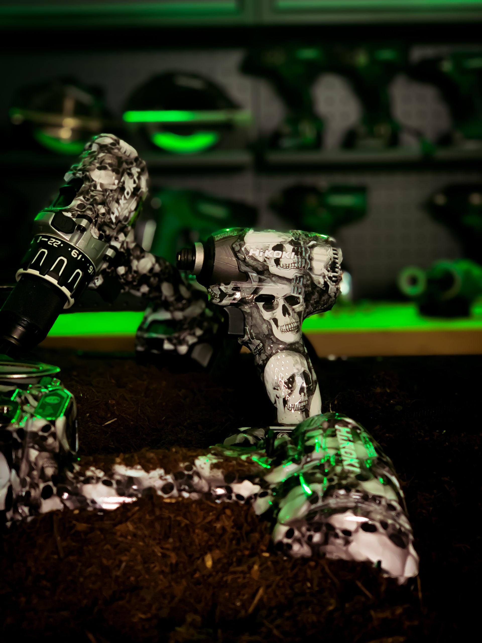 HiKOKI Power Tools UK launches collectible Limited Edition SKULL 'Catacomb' range