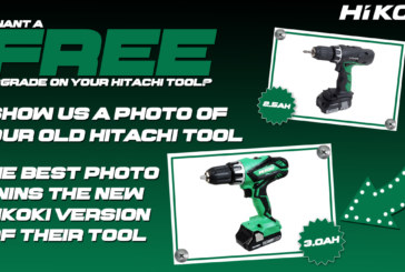 Want a free upgrade on your old Hitachi tool?