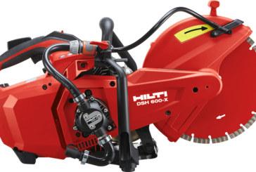 Handheld petrol saw from Hilti