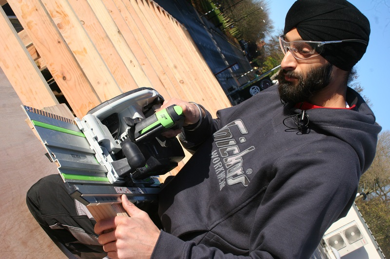 Tibby: Laying Down the Saw with Festool